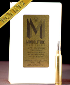 .300 Winchester Magnum 130g HV Gold Hunting Ammo