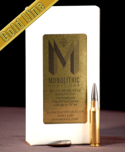 .308 Winchester 130g HV Gold Hunting Ammo