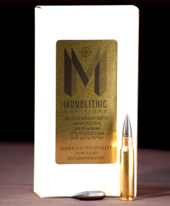 .308 Winchester 137g SP Match Ammunition